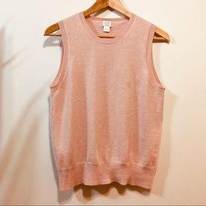 TSE pale pink cashmere shell